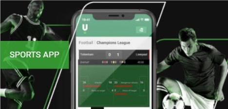 Get the unibet sports app here