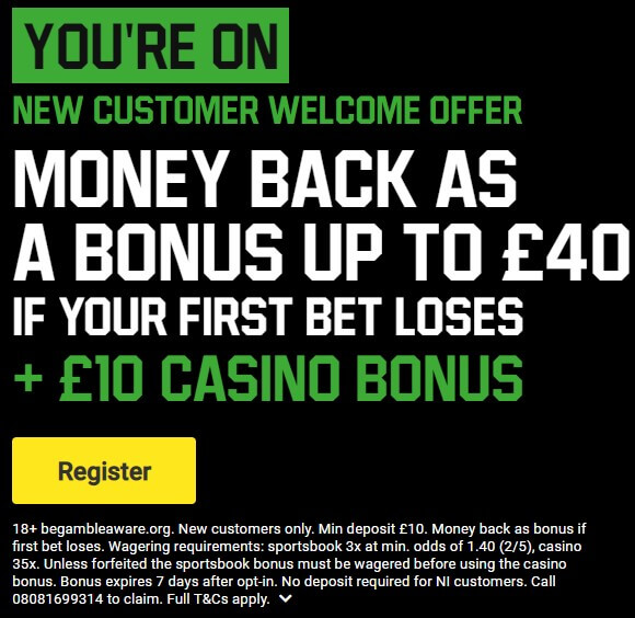 Use this Unibet Promo Code to Get offer now
