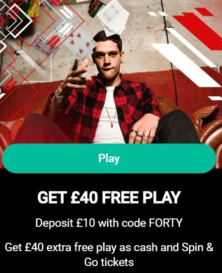 pokerstars marketing code offer